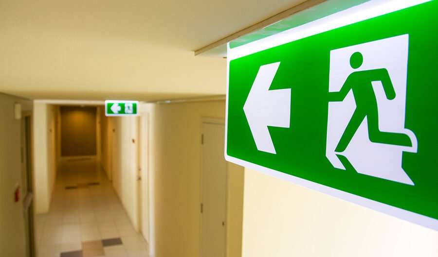 emergency exit lighting requirements for buildings